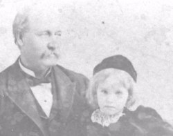 James T. and daughter Melville Ellis